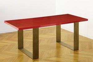 ANTOINE DE MESTIER -  - Table De Repas Rectangulaire