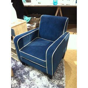 Mathi Design - fauteuil club saphir - Fauteuil