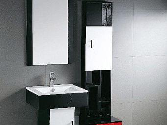 UsiRama.com - meuble salle de bain magico colonne 140cm - Meuble De Salle De Bains