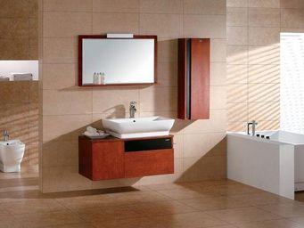 UsiRama.com - meuble sdb 100cm fonctionnel vasque budapest - Meuble Vasque