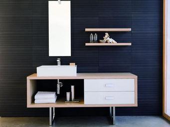 UsiRama.com - meuble salle de bain egal 1.6m - Meuble Vasque