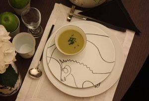 MARC DE LADOUCETTE PARIS - le cheval - Assiette À Dessert