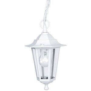 Eglo - laterna - suspension d'extérieur blanc h90cm | lu - Suspension