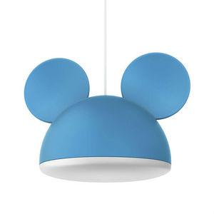 Philips - disney - suspension mickey mouse bleu ø26cm | lumi - Suspension Enfant