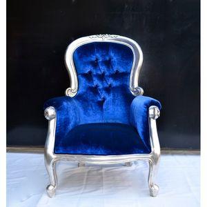 DECO PRIVE - fauteuil de style baroque grandfather - Fauteuil