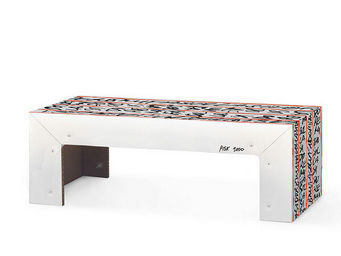 Corvasce Design - tavolino in cartone pisk - Table Basse Rectangulaire
