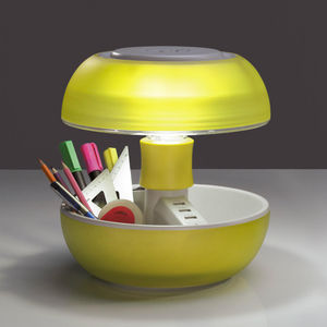 VIVIDA - joyo - lampe usb multifonction jaune translucide h - Lampe De Bureau