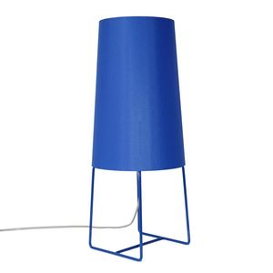 FrauMaier - minisophie - lampe à poser bleu h46cm | lampe à po - Lampe À Poser