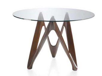 Atylia - table à manger - Table De Repas Ronde