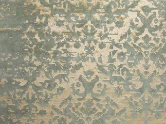 EDITION BOUGAINVILLE - taj mahal green gold - Tapis Contemporain