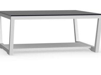 Calligaris - table basse element de calligaris blanche avec pla - Table Basse Rectangulaire