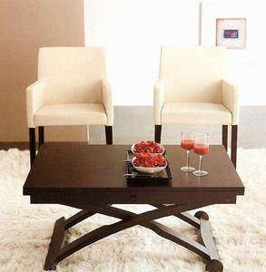 Calligaris - table basse relevable extensible italienne mascott - Table De Repas Rectangulaire