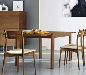 Calligaris - table repas extensible vero de calligaris 130x90 n - Table Bureau