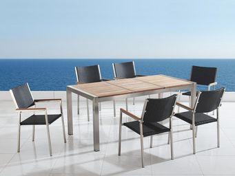BELIANI - tables et chaises - Salle À Manger De Jardin