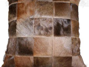 Tergus - coussin peau de blesbok - Coussin Carré