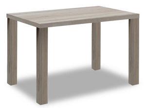 COMFORIUM - table à manger 120 cm coloris sonoma clair - Table De Repas Rectangulaire