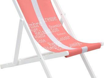 Amadeus - chilienne en bois blanc relaxation - Transat