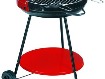 Dalper - barbecue � charbon sur roulettes camping - Barbecue Au Charbon
