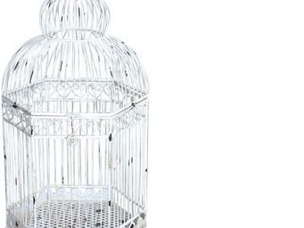 Demeure et Jardin - cage décorative a poser - Cage À Oiseaux