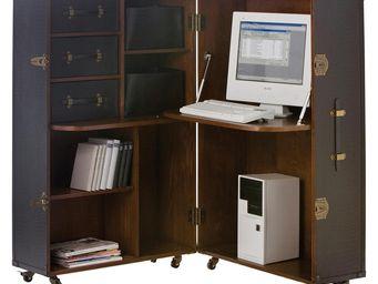 Kare Design - coffre bureau colonial - Bureau