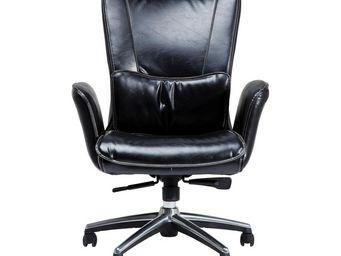 Kare Design - fauteuil de bureau boss noir - Fauteuil De Bureau