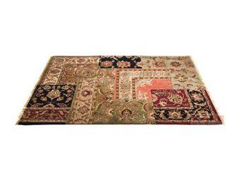 Kare Design - tapis carré persian patchwork 300x200 - Tapis Contemporain
