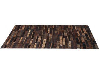 Kare Design - tapis design brick marron 170x240cm - Tapis Contemporain