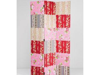 Kare Design - paravent patchwork flower - Paravent
