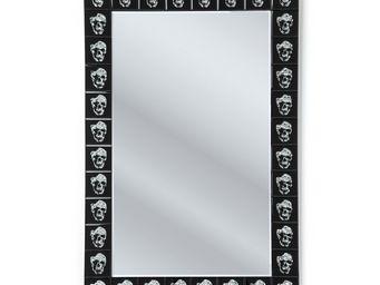 Kare Design - miroir skull movie 120x80 - Miroir