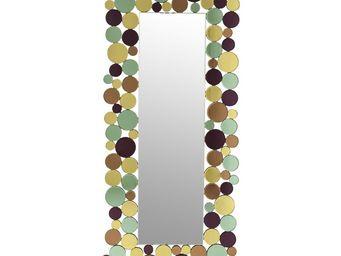 Kare Design - miroir circle crest 180x80cm - Miroir