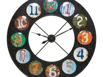 Kare Design - horloge vintage colour 119 - Horloge Murale