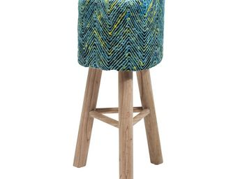 Kare Design - tabouret de bar wicked waves - Tabouret De Bar