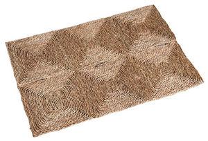 Aubry-Gaspard - tapis rectangulaire en jonc 180 cm 180 x 120 cm - Tapis Contemporain