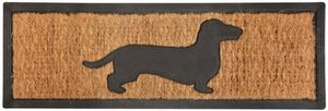 BEST FOR BOOTS - tapis paillasson en coco 75x25cm chien - Paillasson