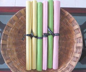 ITI  - Indian Textile Innovation - thin ribs - Set De Table