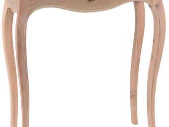 Amadeus - meuble console bois faux tiroir merveille naturel - Console