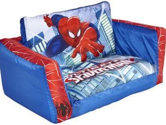 ROOM STUDIO - canapé convertible gonflable mon héro animé spider - Canapé Enfant