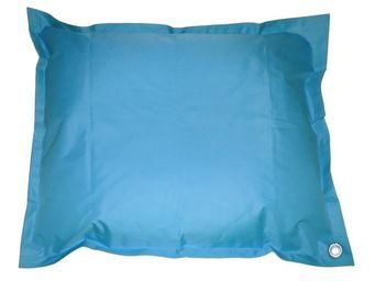 Cotton Wood - pouf de piscine flottant turquoise - Coussin De Sol