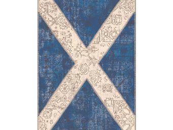 WHITE LABEL - tapis 240 x 170 cm - scottish - l 240 x l 170 - co - Tapis Contemporain