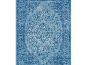 WHITE LABEL - tapis azur 240 x 170 cm - oriental - l 240 x l 170 - Tapis Contemporain