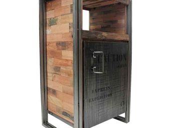 WHITE LABEL - confiturier en bois - industry - l 60 x l 40 x h 1 - Confiturier