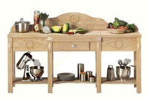 Maison Strosser - la table de trancheur - Meuble De Cuisine (bas)
