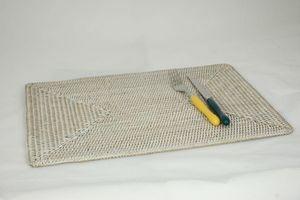 BaolgiChic - rotin blanc - Set De Table