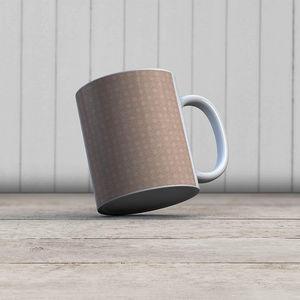la Magie dans l'Image - mug trèfle beige foncé beige - Mug
