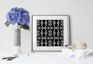 la Magie dans l'Image - print art éthno-baroque - Estampe