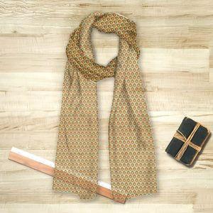 la Magie dans l'Image - foulard pattern paons - Foulard Carré