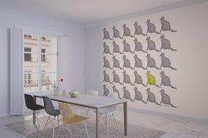 la Magie dans l'Image - grande fresque murale chats groupés - Papier Peint Panoramique