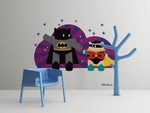 la Magie dans l'Image - grande fresque murale héros batman - Papier Peint Panoramique