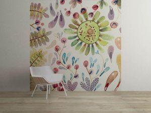 la Magie dans l'Image - grande fresque murale prairie - Papier Peint Panoramique