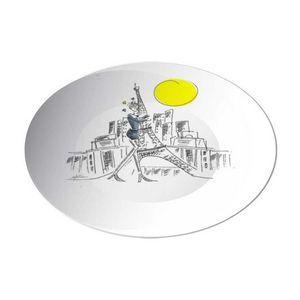 la Magie dans l'Image - assiette paris - Assiette De Présentation